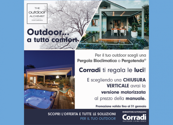 Outdoor… A tutto comfort!